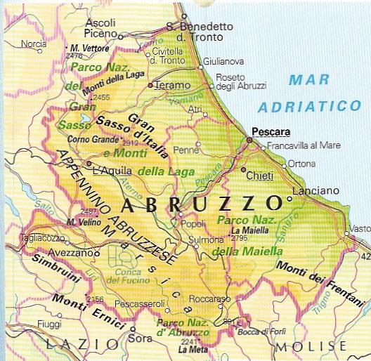 Cartina Geografica Politica Abruzzo Pieterduisenberg