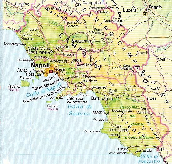 Cartina Geografica Del Lazio Mappa Stradario