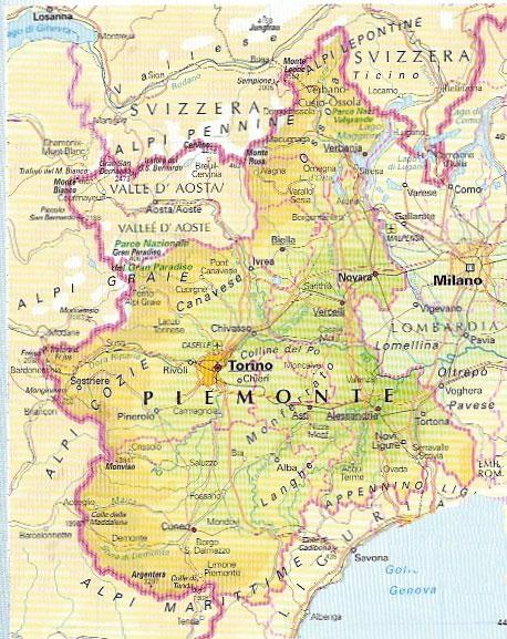 Cartina Geografica Del Piemonte Fisica Pieterduisenberg