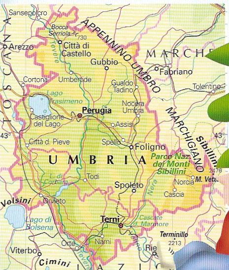 Cartina Geografica Umbria Cascia.Umbria Junglekey It Immagini