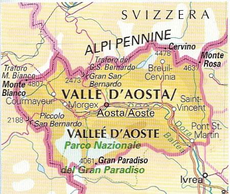 Cartina Muta Della Valle D Aosta.Home